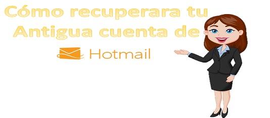 Cómo recuperar tu cuenta de Hotmail