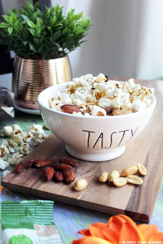 fall snack combos, Honest Tea, Simple Trutrh organic, popcorn snack