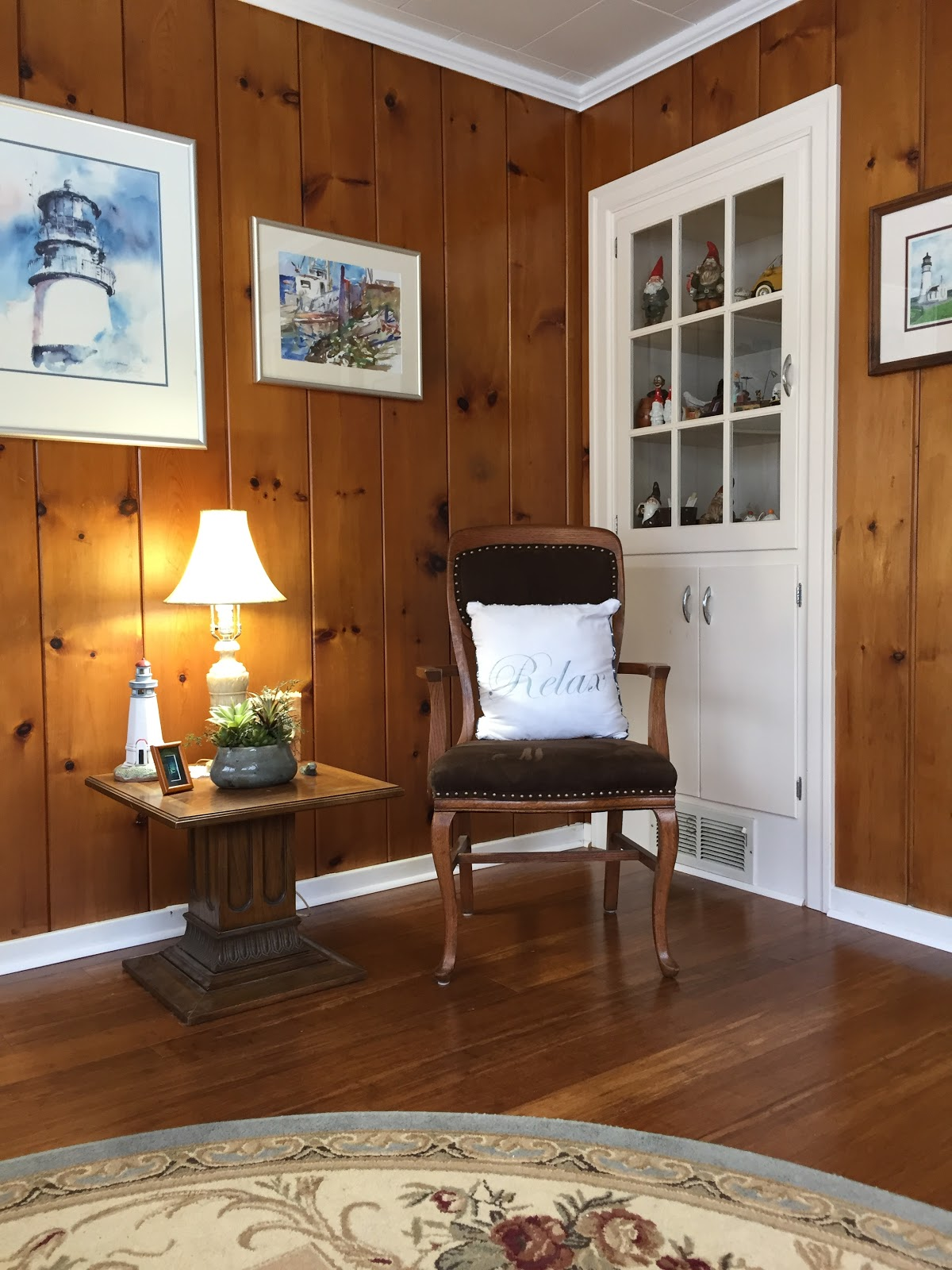 Knotty Pine Rooms: Knotty Pine Walls In The Parlor