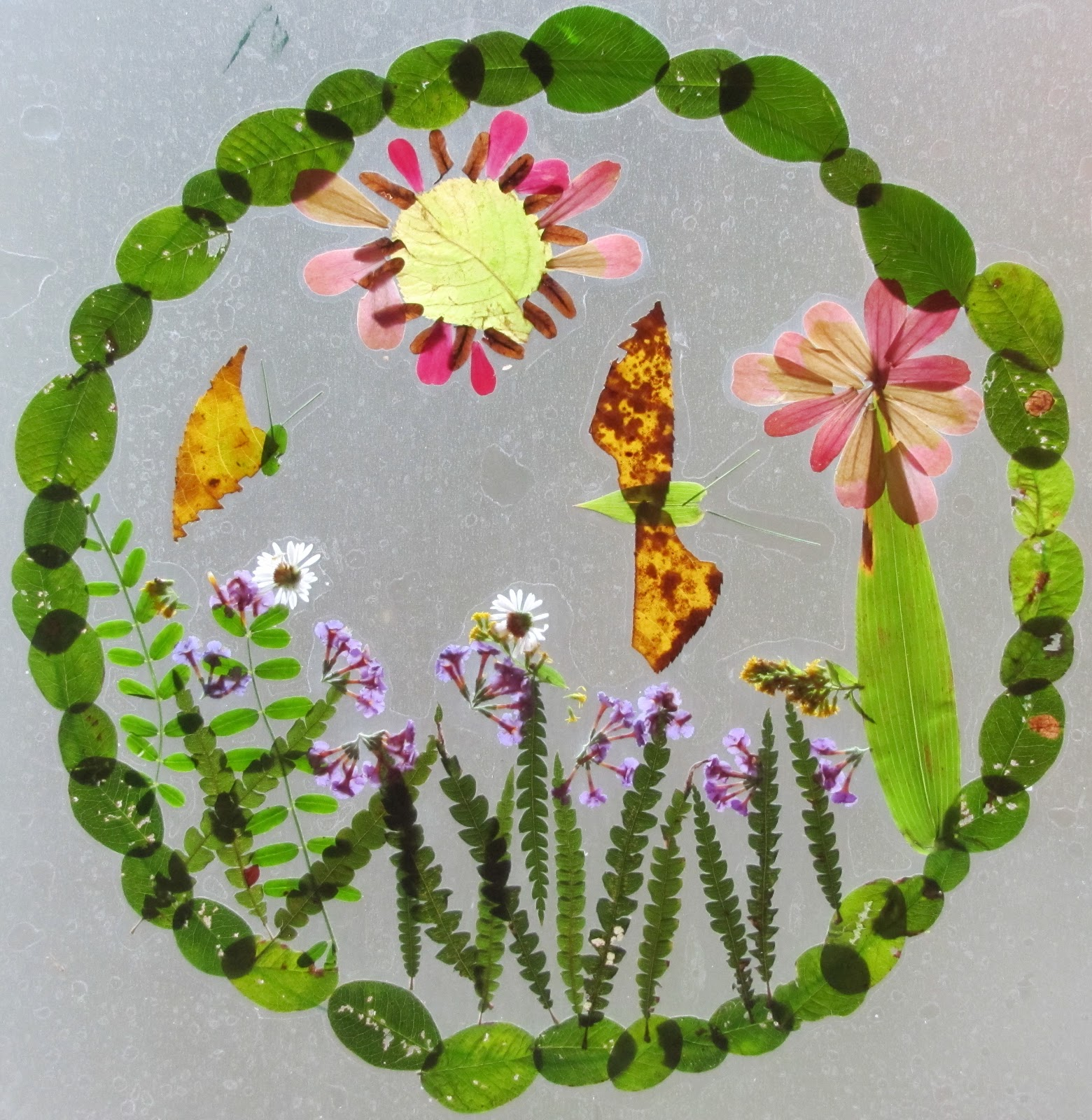 Make your own Nature Paintbrushes - Painting with flowers ... |Nature Paintings For Children