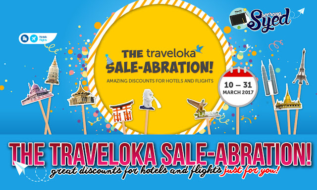 The Traveloka Sale-Abration