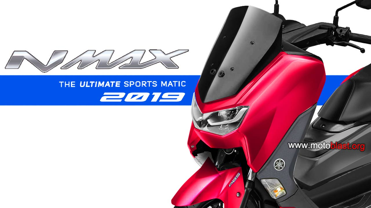 Penampakan Render Calon New Yamaha NMAX 155 2020 yang sudah di warnai ini memang beneran cakep !