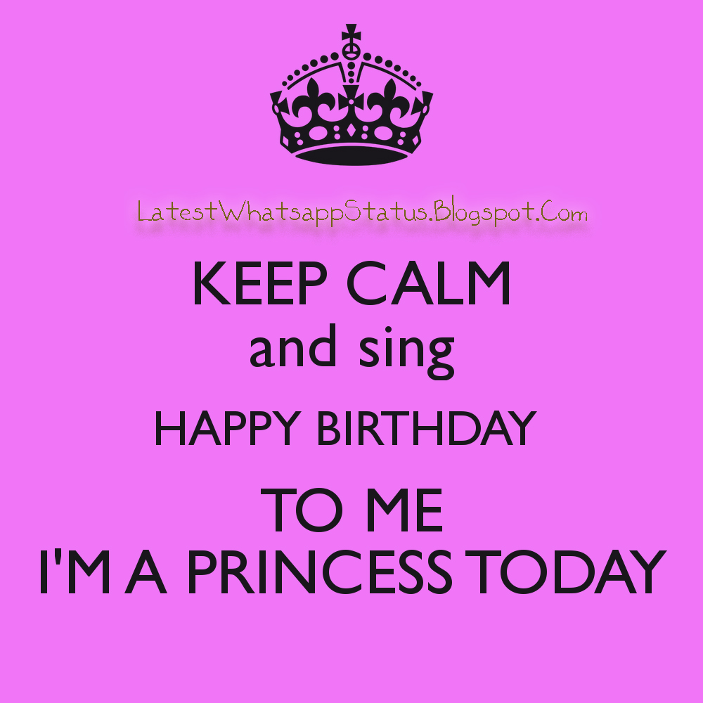 keep calm birthday status and quotes dp profile picture