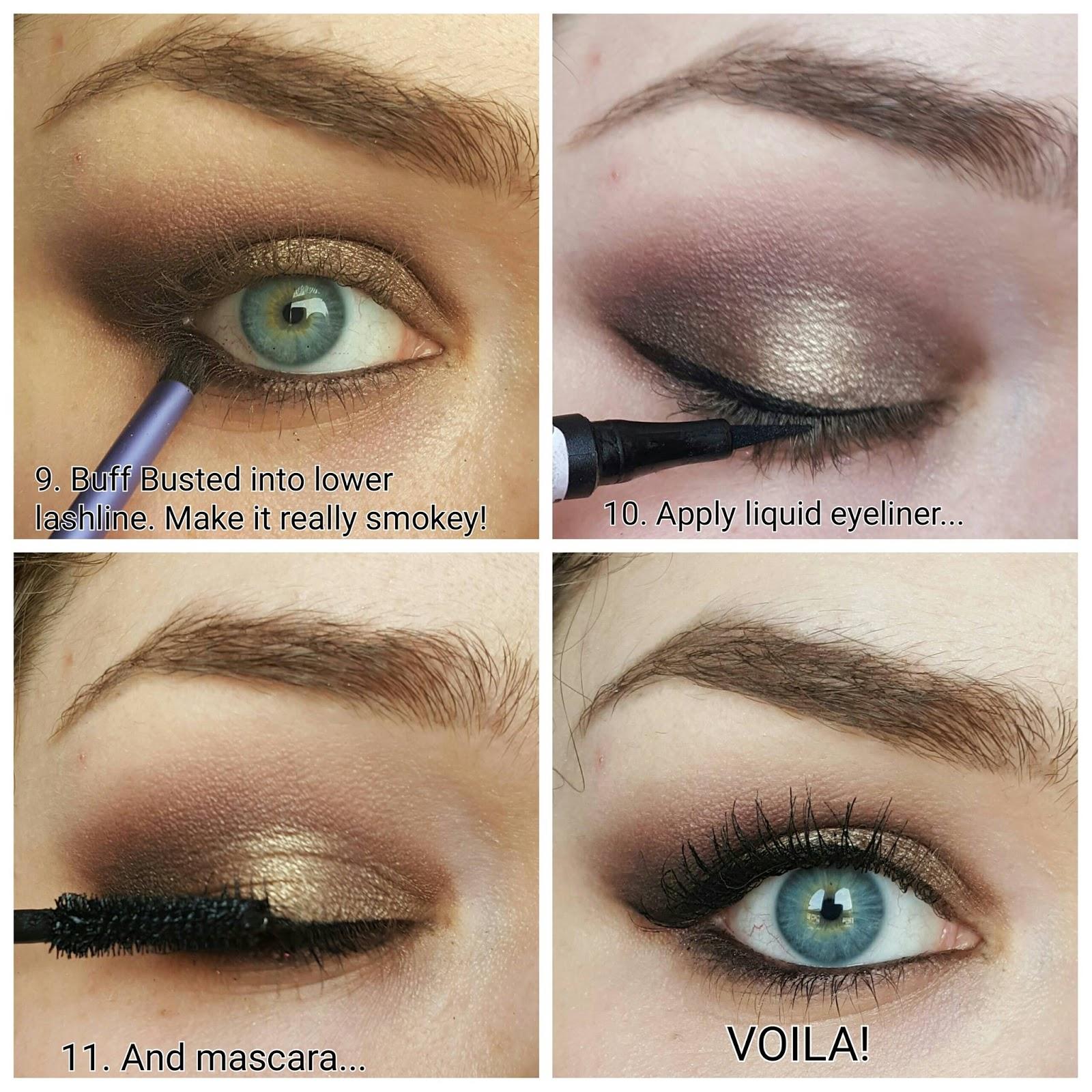 Smokey Brown Eyeshadow using Urban Decays NAKED 2 palette