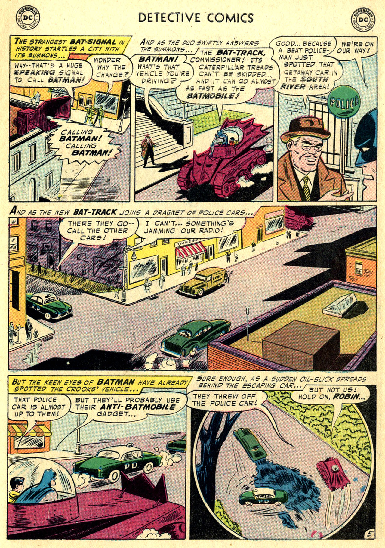 Read online Detective Comics (1937) comic -  Issue #236 - 7