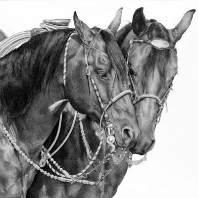 dibujos-vaqueros-caballos-lapiz