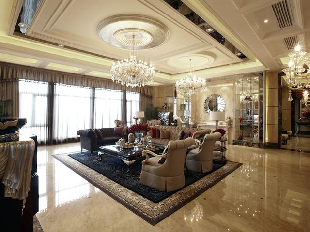 Mô tả các phần chi tiết trong thiết kế nội thất cổ điển