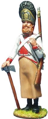 ZAPADOR REGIMIENTO GUADALAJARA 1808