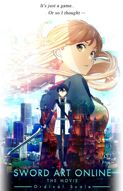 Asuna and the gang convince Kirito to come back for a new game called Ordinal Scale. Once they're inside the game, they realize it will be anything but fun.
