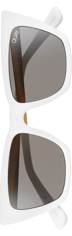 Quay Australia x Desi Perkins Don't @ Me 48mm Cat Eye Sunglasses