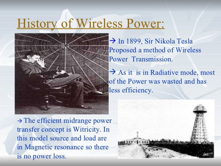 THE HEIGHTS OF TECHNOLOGY: Wireless Electricity Or WiTricity