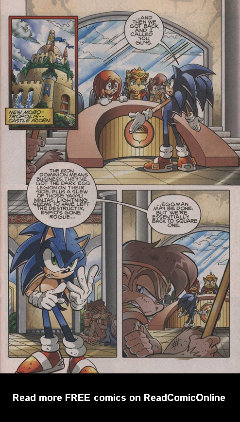 Read online Sonic The Hedgehog comic -  Issue #202 - 16