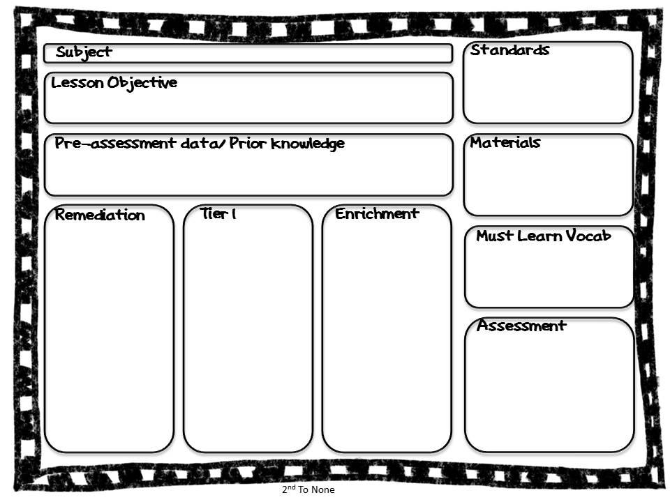 Enchanting Lesson Plan Template Ohio Gift Example Resume Ideas