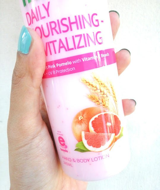 review natur e kapsul hand and body lotion