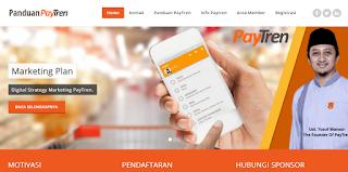 Jasa Pembuatan Landing Page PayTren Murah