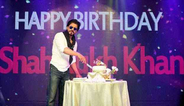 Bollywood Birthday, Sharukh Khan Birthday, Birthday Planning