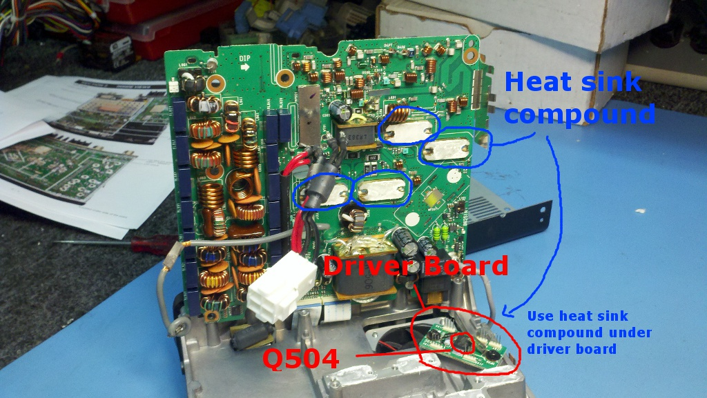 N6ha S Ham Radio Blog Ic 7000 Driver Board Replacement How To