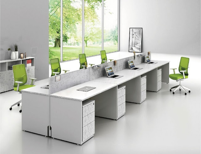 best buy white modern office furniture Melbourne VIC for sale