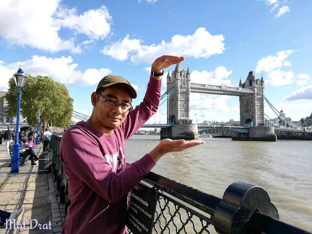 Travelog Percutian ke London