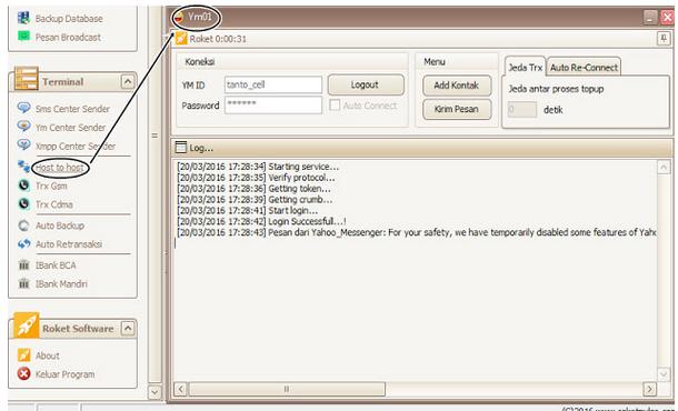 Menambahkan Suplayer H2H Pada Software Roket Pulsa