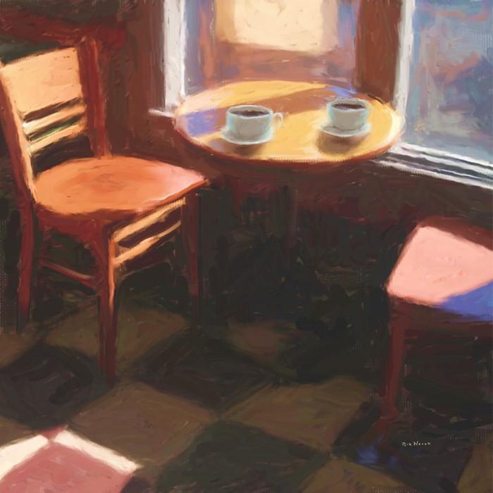 Американский художник. Rick Novak
