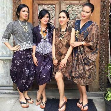 grosir baju batik solo modern