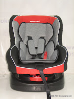 2 BabyDoes BD875 Baby Car Seat - Rear and Forward Facing