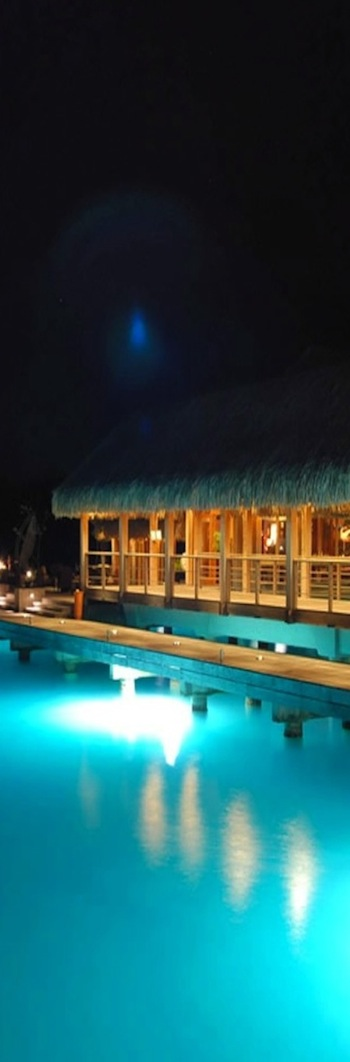 St. Regis Bora Bora at Night
