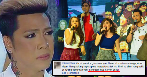 Will Vice Ganda Be Removed From It's Showtime?