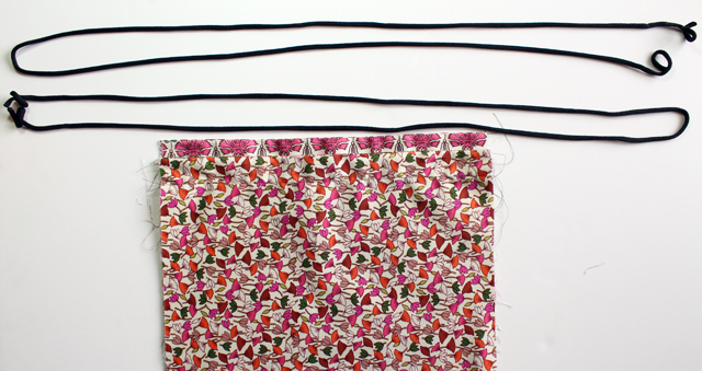 punk projects  Drawstring Backpack DIY 27c1f903df294