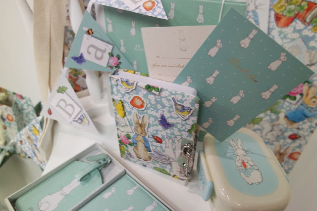 Paperchase SS16 baby shower peter rabbit