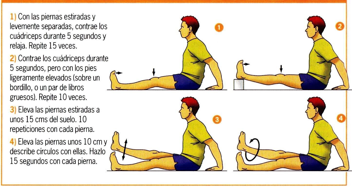Ejercicios contra la celulitis en las piernas