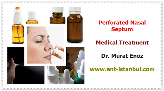 Definition of Nasal Septal Perforation - Causes of Perforated Nasal Septum - Symptoms of Nasal Septal Perforation - Diagnosis of Nasal Septal Perforation - Medical Treatment For Nasal Septal Perforation - Septal Button - Nasal Septal Perforation - Surgical Repair of Nasal Septal Perforation - Very Large Nasal Septal Perforations - Surgical Difficulty - Postoperative Patient Care After Nasal Septal Perforation Repair