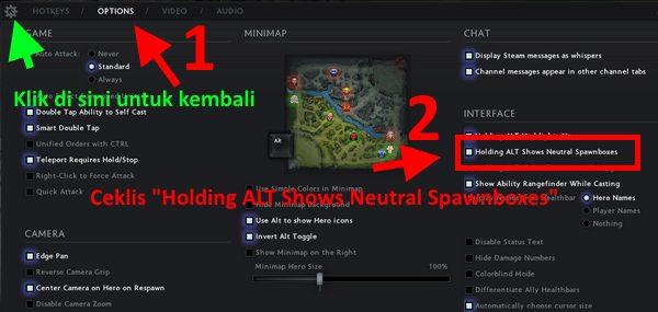 Cara Mengaktifkan Spawn Boxes Creep