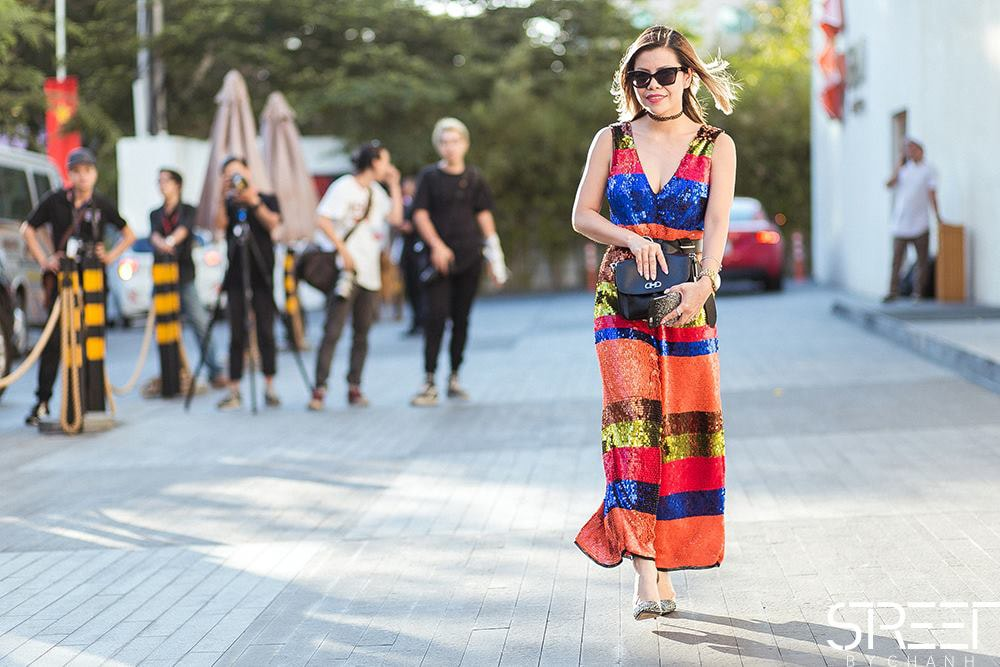 Vietnam International Fashion Week day 1- Crystal Phuong- Streetstyle