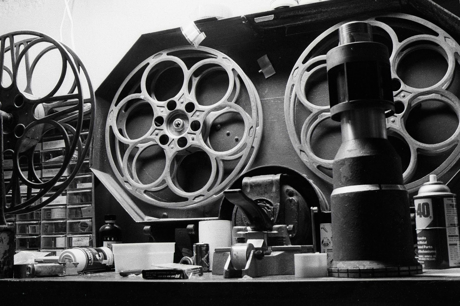 Silver Light Alchemy: From the Archive - Film Reels 1987