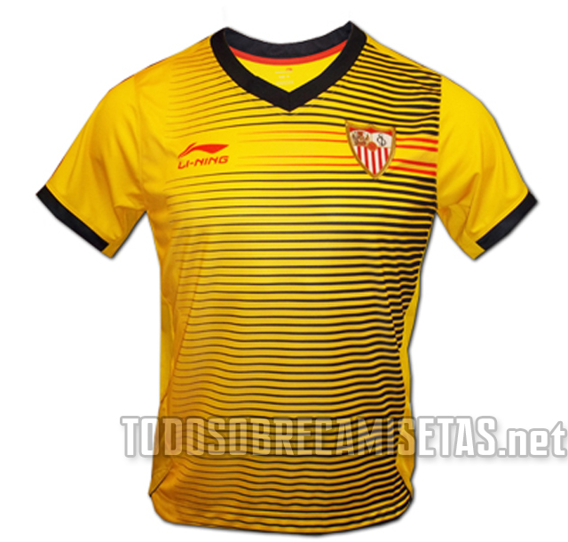 27f7f7d443da6 Li Ning irrumpía el año pasado en el Sevilla FC prometiendo unas camisetas  rompedores