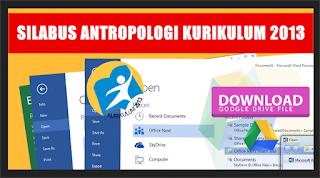 Update Silabus Mata Pelajaran Antropologi Kurikulum 2013 Kelas X, XI, XII