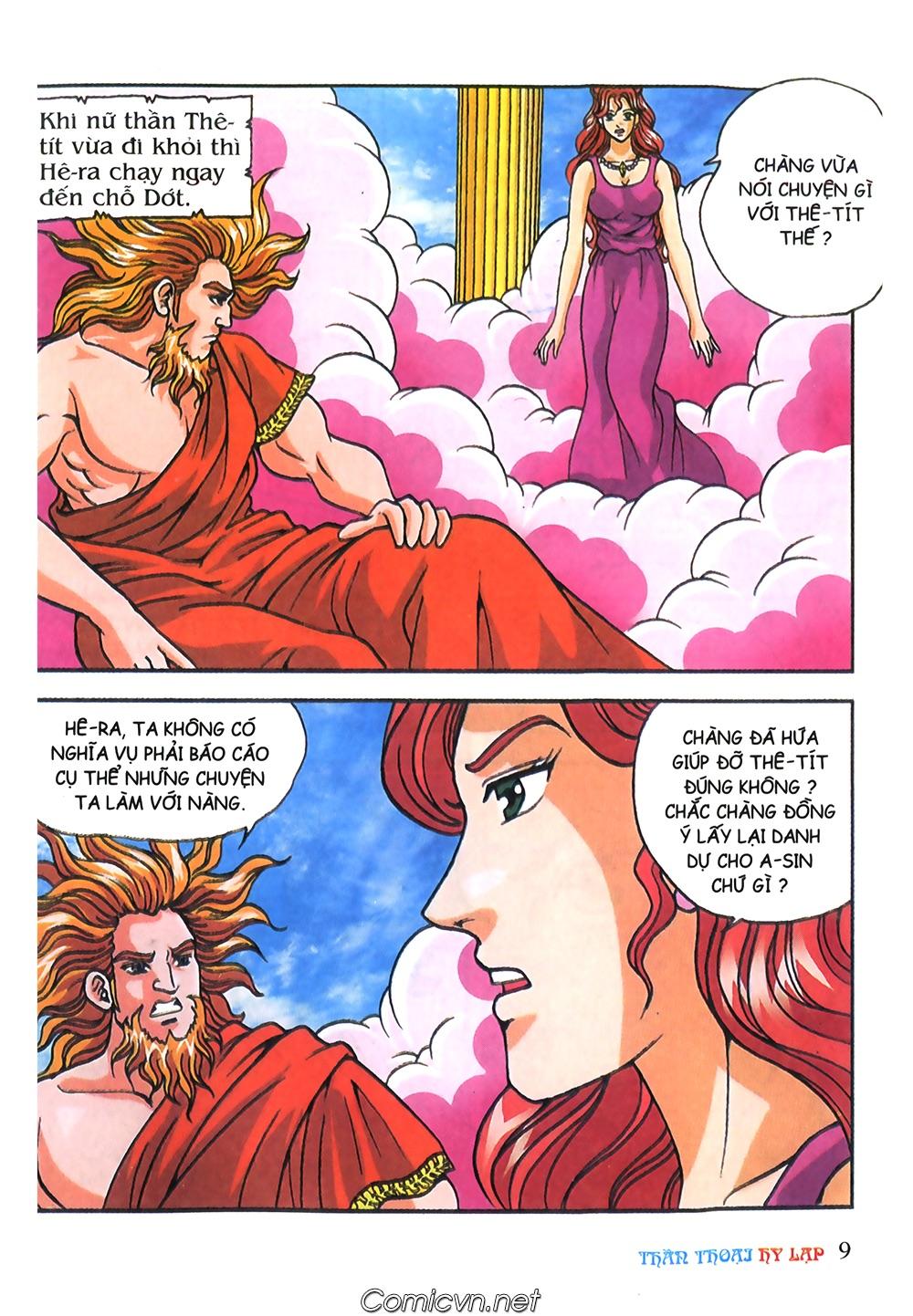 Thần Thoại Hy Lạp Màu - Chapter 57: Cuộc chiến định mệnh - Pic 8