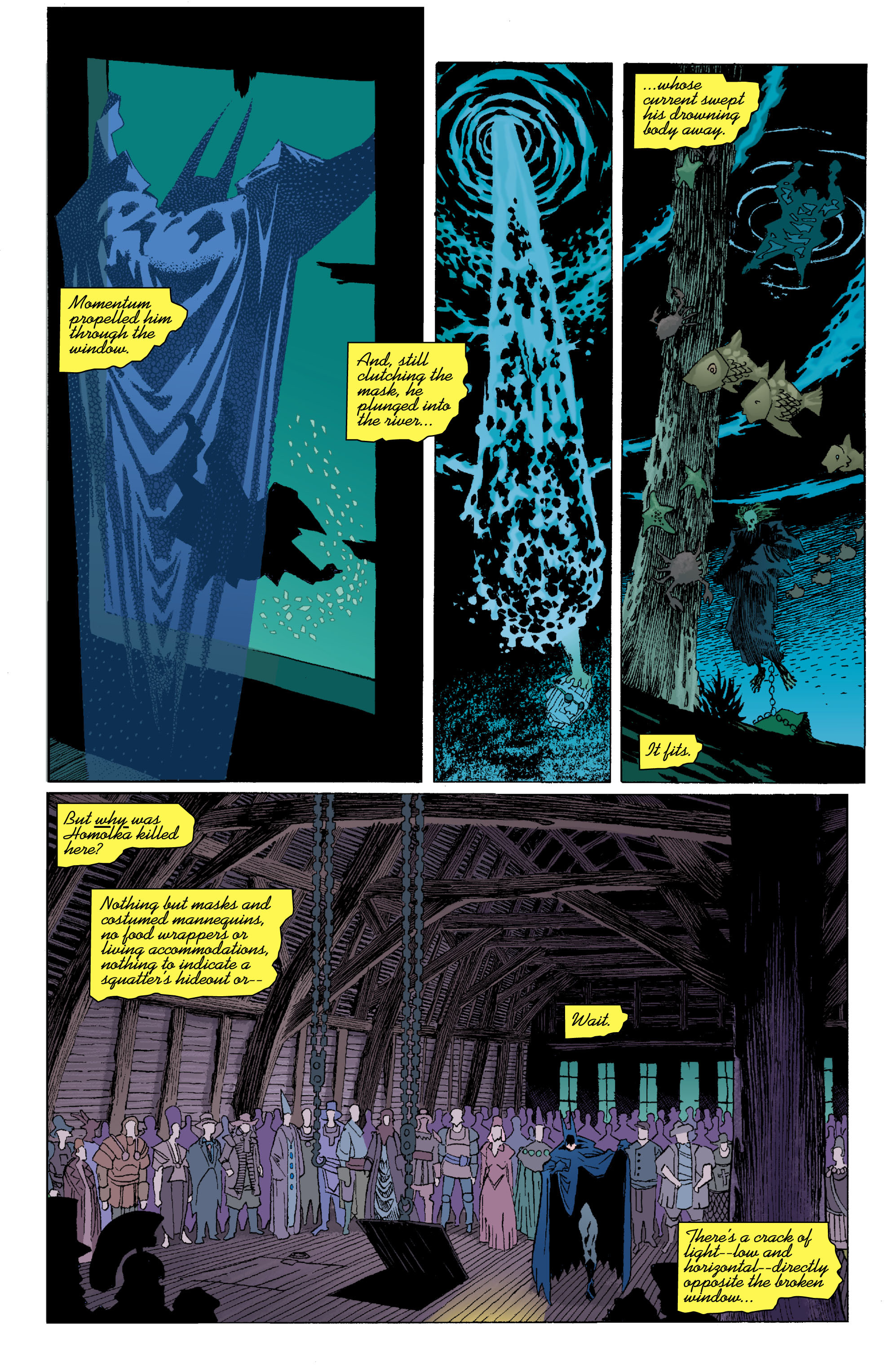 Read online Batman: Unseen comic -  Issue #4 - 7