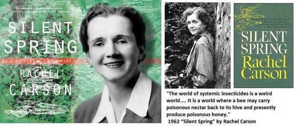Mujerícolas: Rachel Carson .Primavera silenciosa .Primera