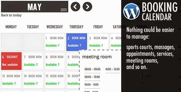 WP Booking Calendar v3.0 gratis