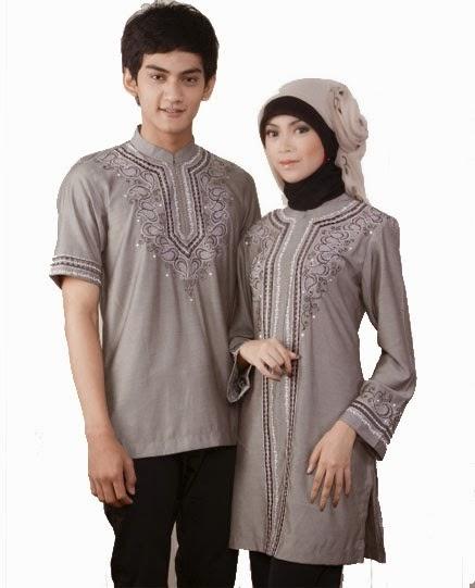 Contoh - Contoh Model Baju Busana Muslim Couple   Pasangan Terpopuler 2015 60eee117d0