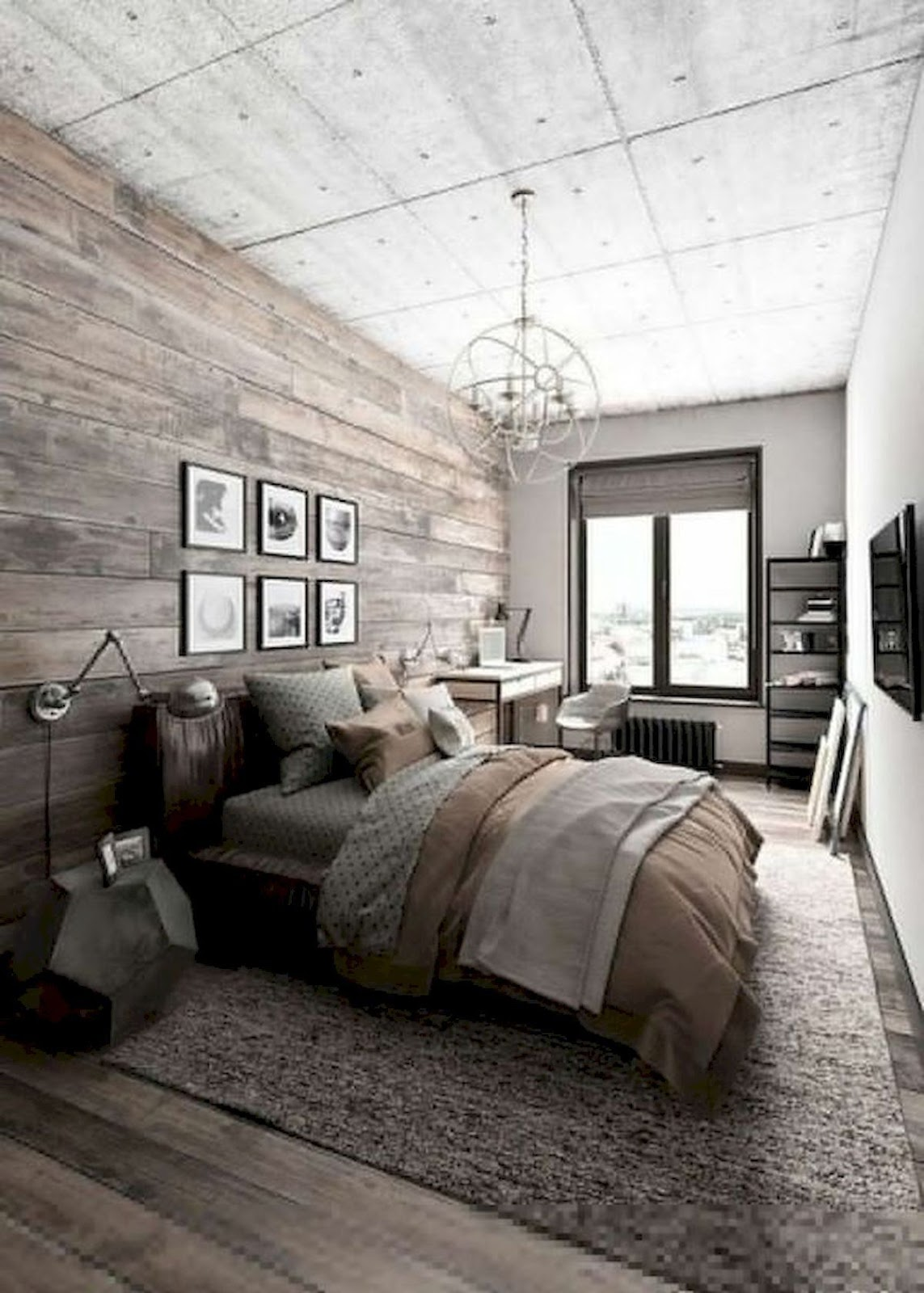 Comfy Modern Master Bedroom for Farmhouse Ideas