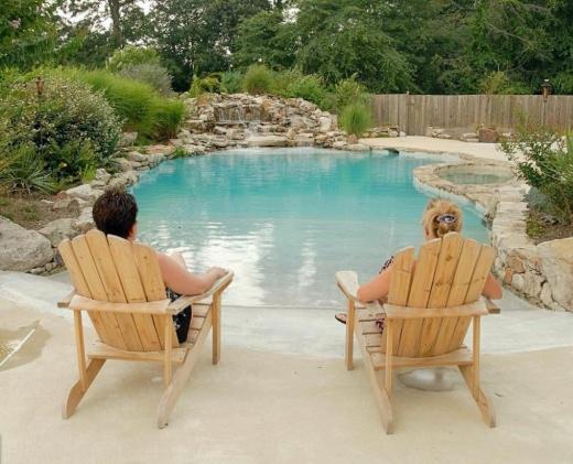 Beach Entry Pool Design Idea