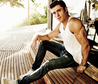 Zac Efron talks getting in shape with Men's Fitness magazine. Details at JasonSantoro.com
