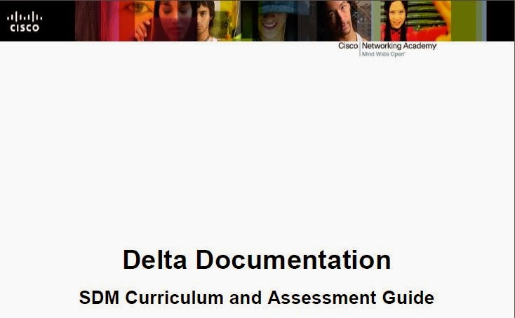 Cisco Delta Documentation SDM Curriculum and Assessment Guide