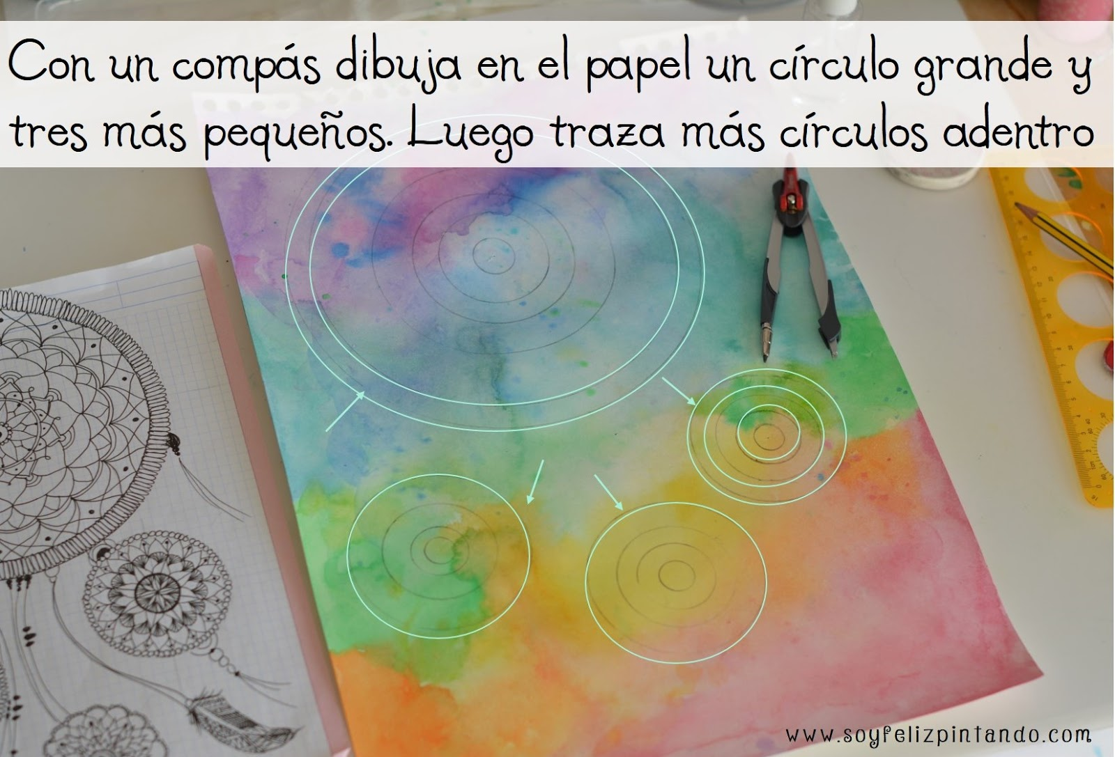 Magnífico Círculos Del Arte Del Uña Inspiración - Ideas Para ...