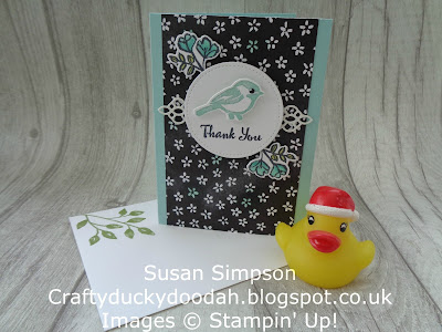 Stampin' Up! UK Independent  Demonstrator Susan Simpson, Craftyduckydoodah!, Petal Palette, December 2017 Coffee & Cards Project, Supplies available 24/7. from my online store,