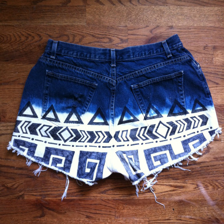 fail AND REDEMPTION: BLEACHED SHORTS
